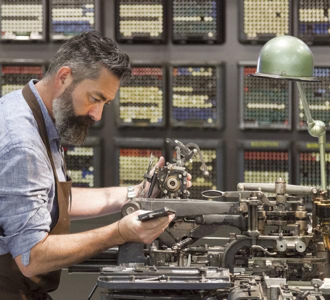 Les ateliers : Des arts et des métiers - AMI - Atelier Musée de l'Imprimerie - Malesherbes