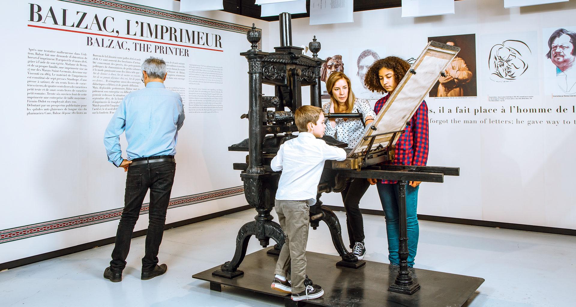 Atelier Musée de l'Imprimerie - Les imprimeurs