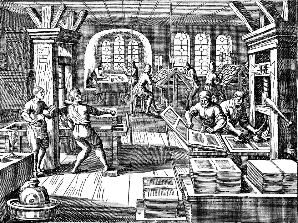 Gutenberg 1 - AMI - Atelier Musée de l'Imprimerie - Malesherbes