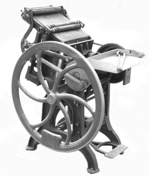 Presse à Imprimer - AMI - Atelier Musée de l'Imprimerie - Malesherbes