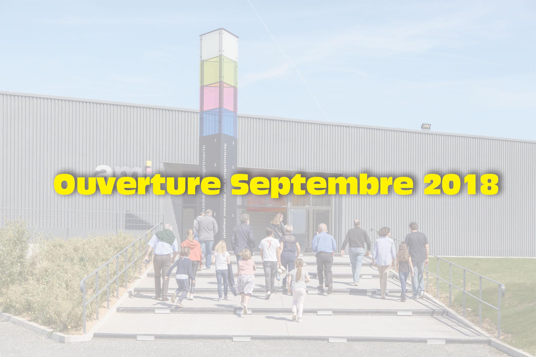 Ouverture prochaine - AMI - Atelier Musée de l'Imprimerie - Malesherbes France