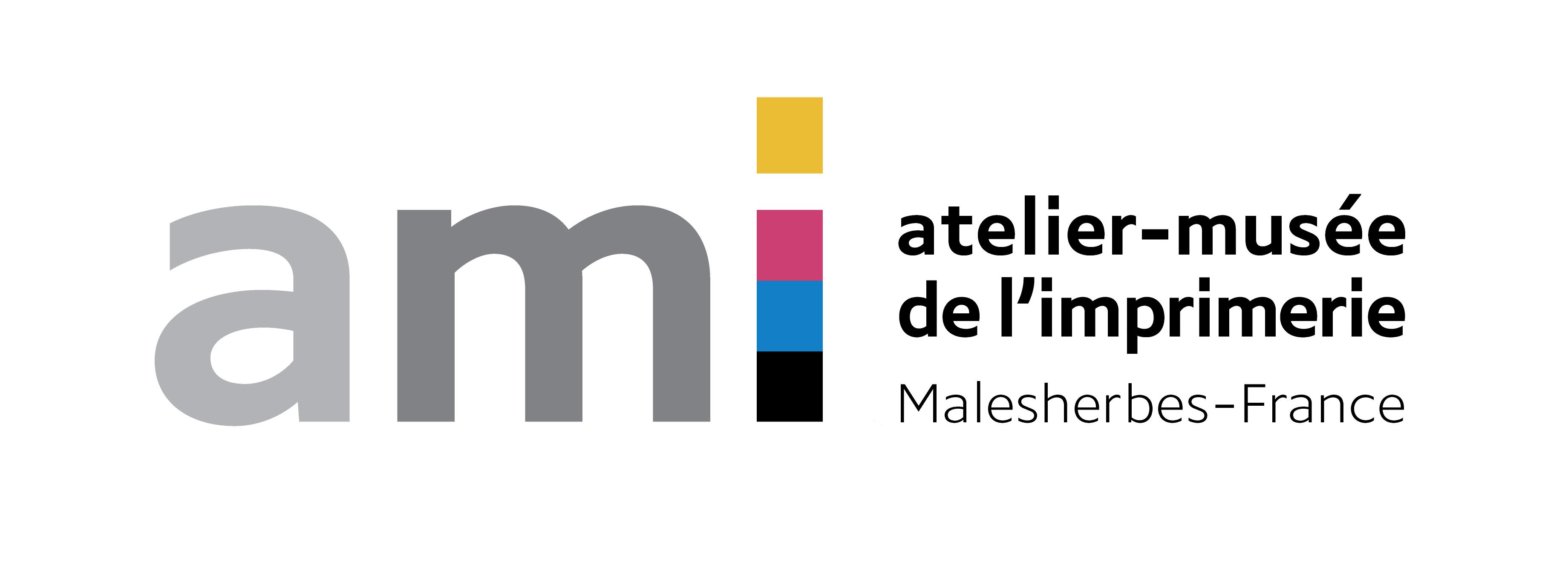logo 1 - AMI - Atelier Musée de l'Imprimerie - Malesherbes France