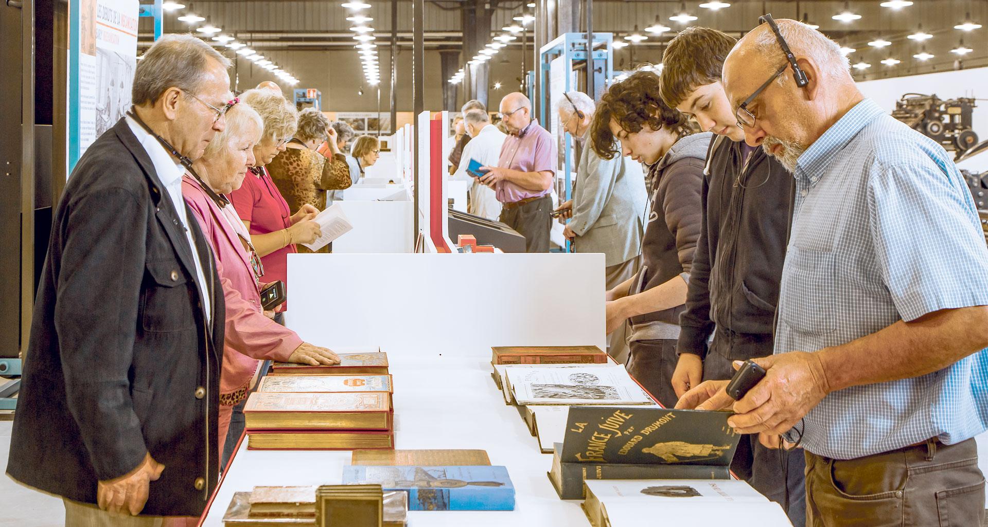 Atelier Musée de l'Imprimerie - Le Livre - Triomphe de l'écrit