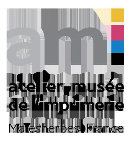 Logo - AMI - Atelier Musée de l'Imprimerie - Malesherbes France
